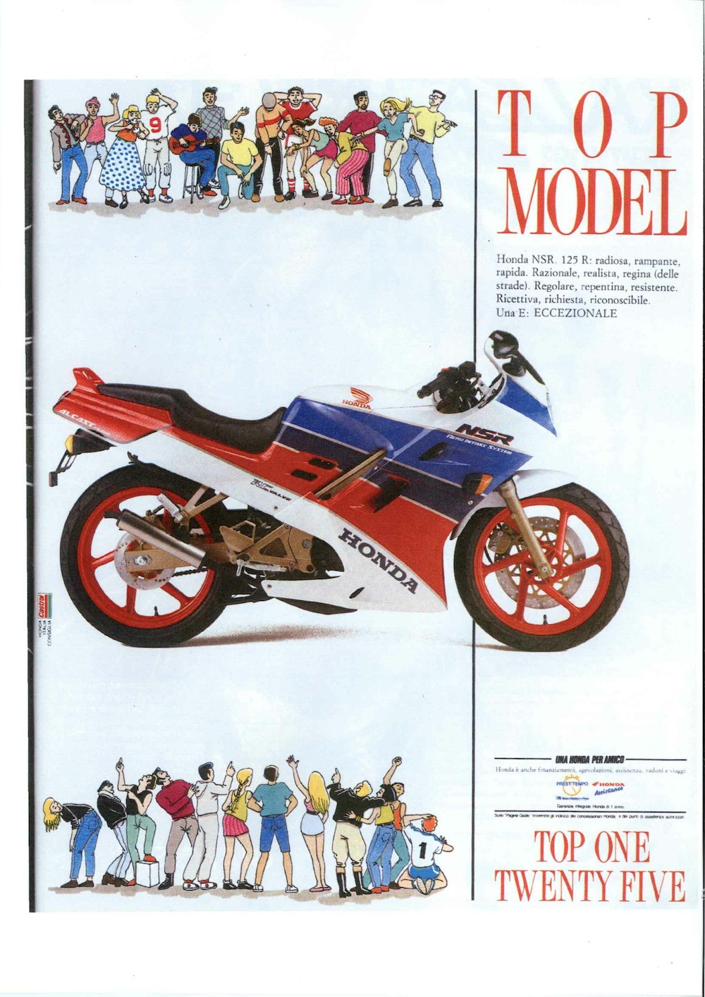 ADV Honda NSR R 90