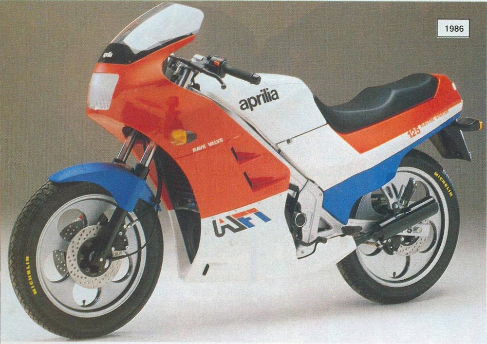 Aprilia AF1 125 prototipo 1986