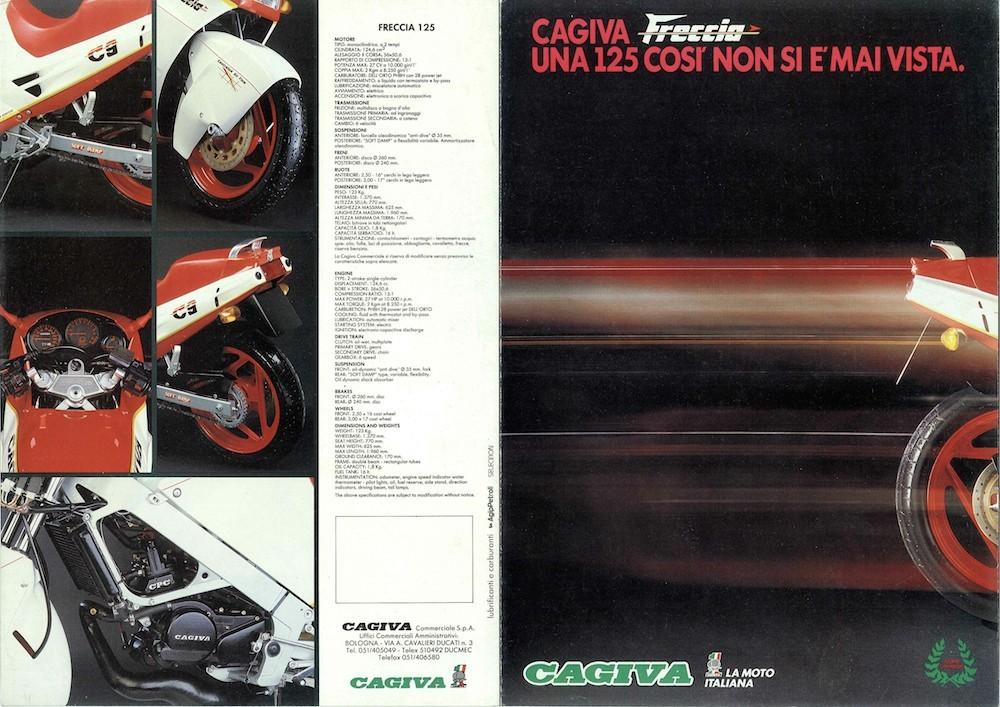 Brochure_Cagiva_Freccia C9_rosso_87