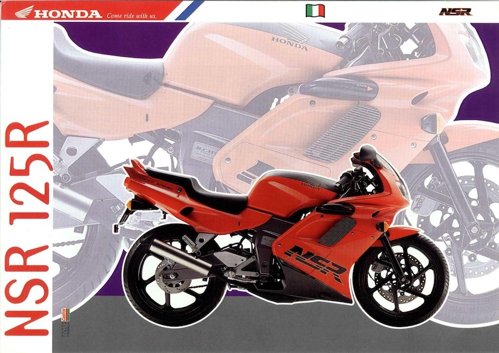 Catalogo Honda NSR-R rosso_nero 1993