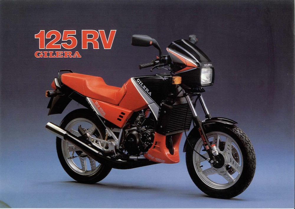 Gielra RV 125 86