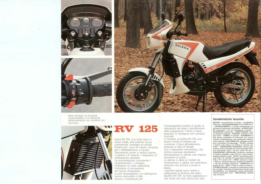 Gilera RV 125 84 (1)