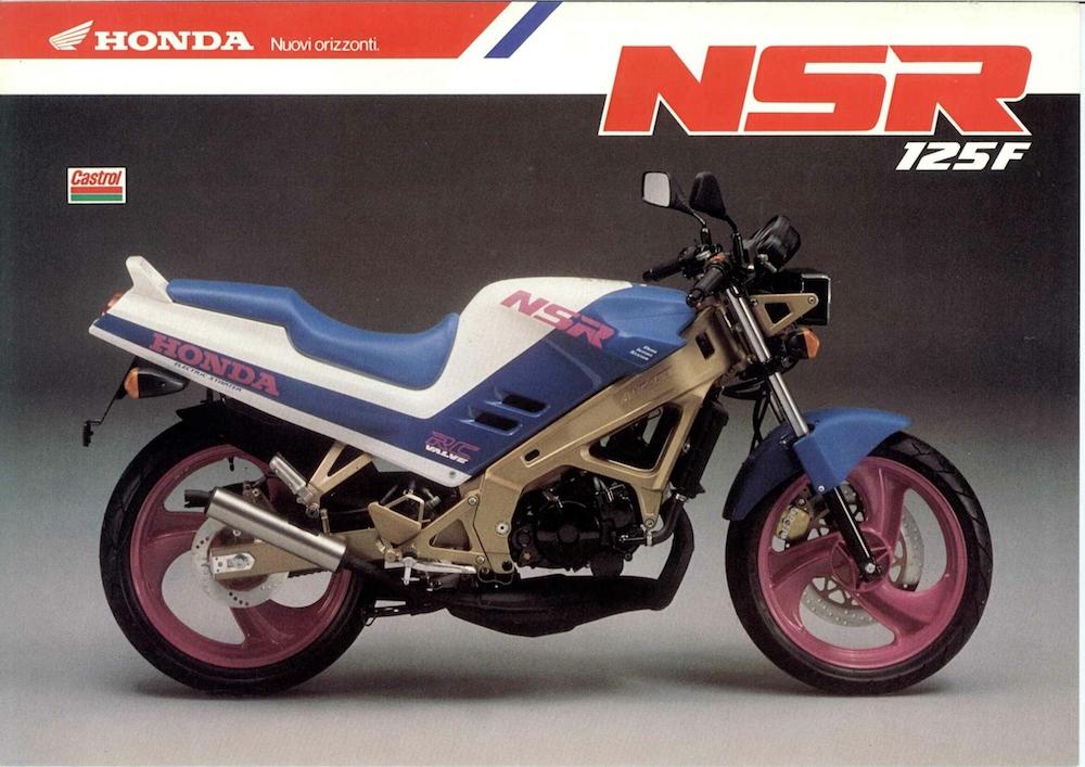 Honda NSR-F 89_ bianco_blu_volantino