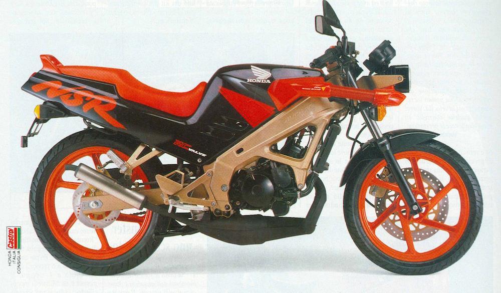 Honda NSR-FM rosso_nero