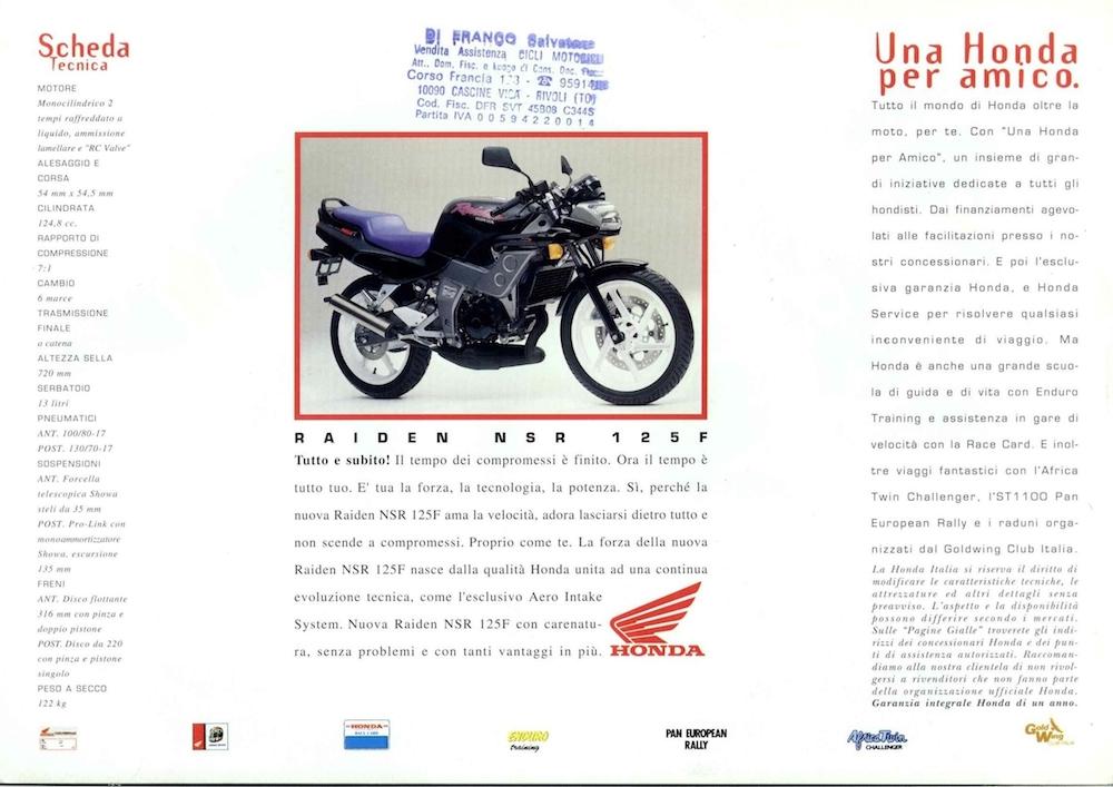 Honda Raiden NSR-F 92 Raiden_azzurro_volantino (1)