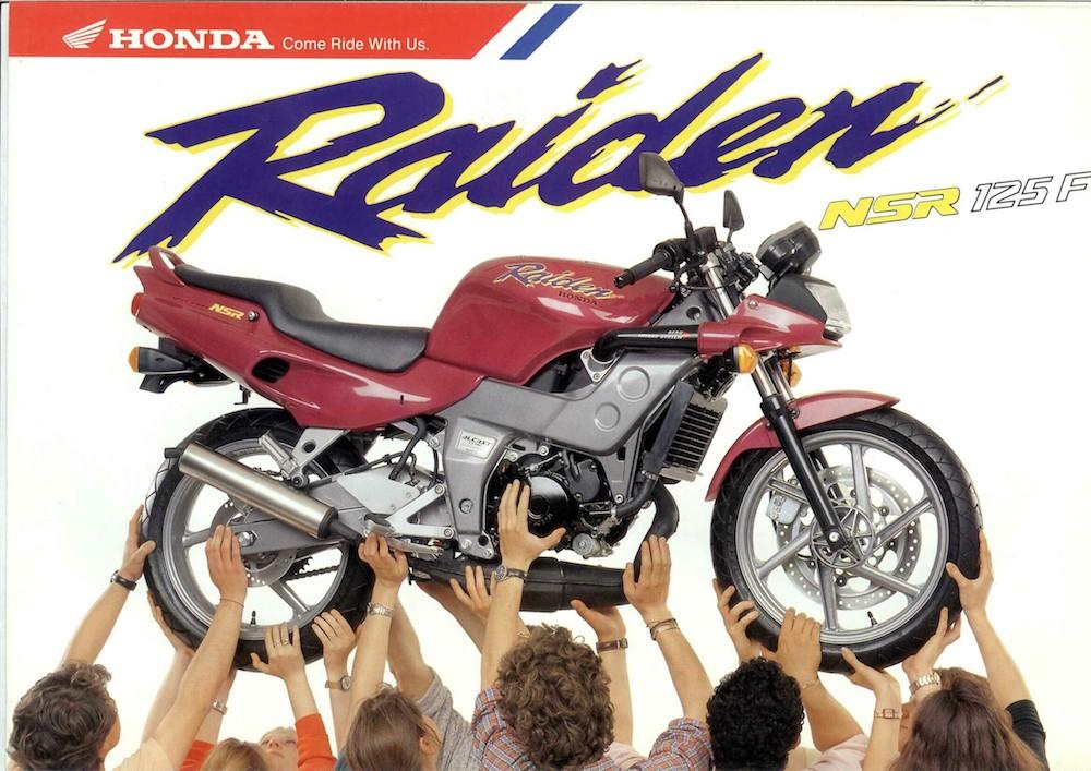 Honda Raiden NSR-F 92_brochure