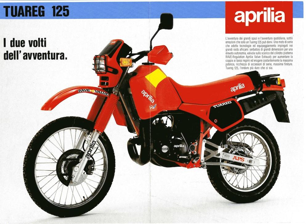 Aprilia Tuareg 125 85