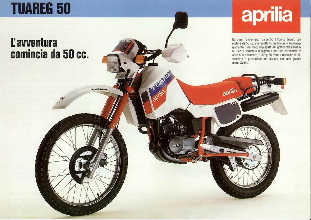 Aprilia Tuareg 50 85