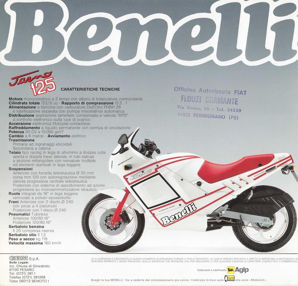 Benelli_Jarno_1988_Brochure_2