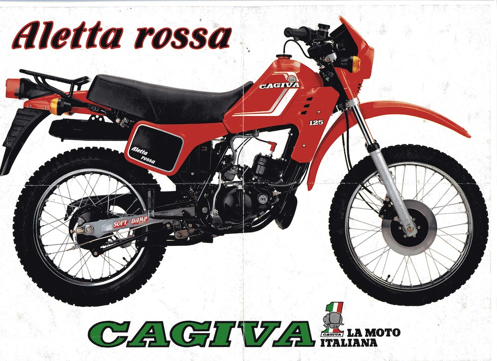Cagiva Aletta Rossa 125 83
