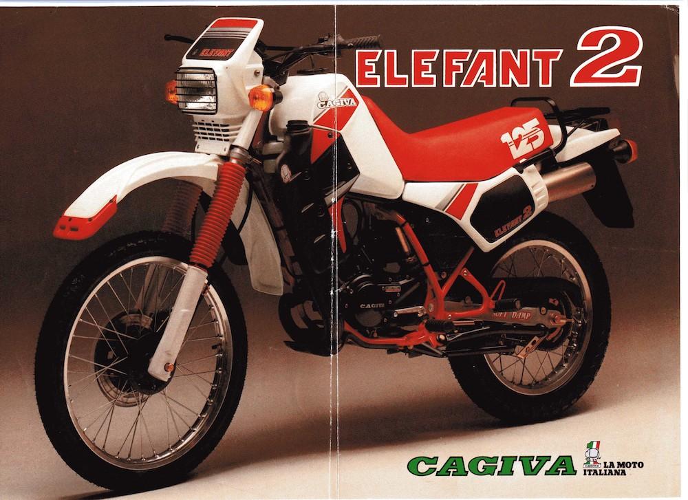 Cagiva Elefant 2 125 85