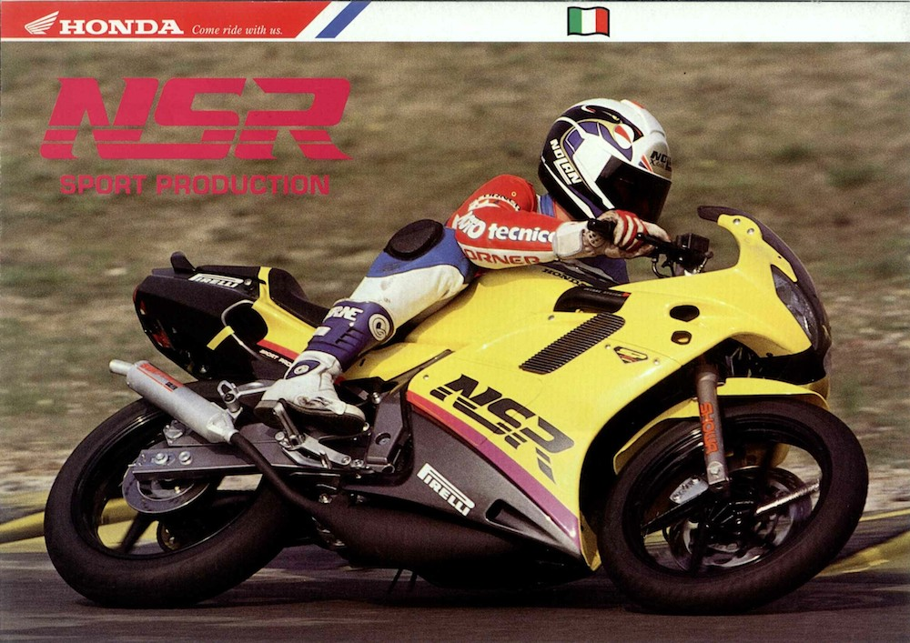 Catalogo Honda NSR-R SP JC22 1993