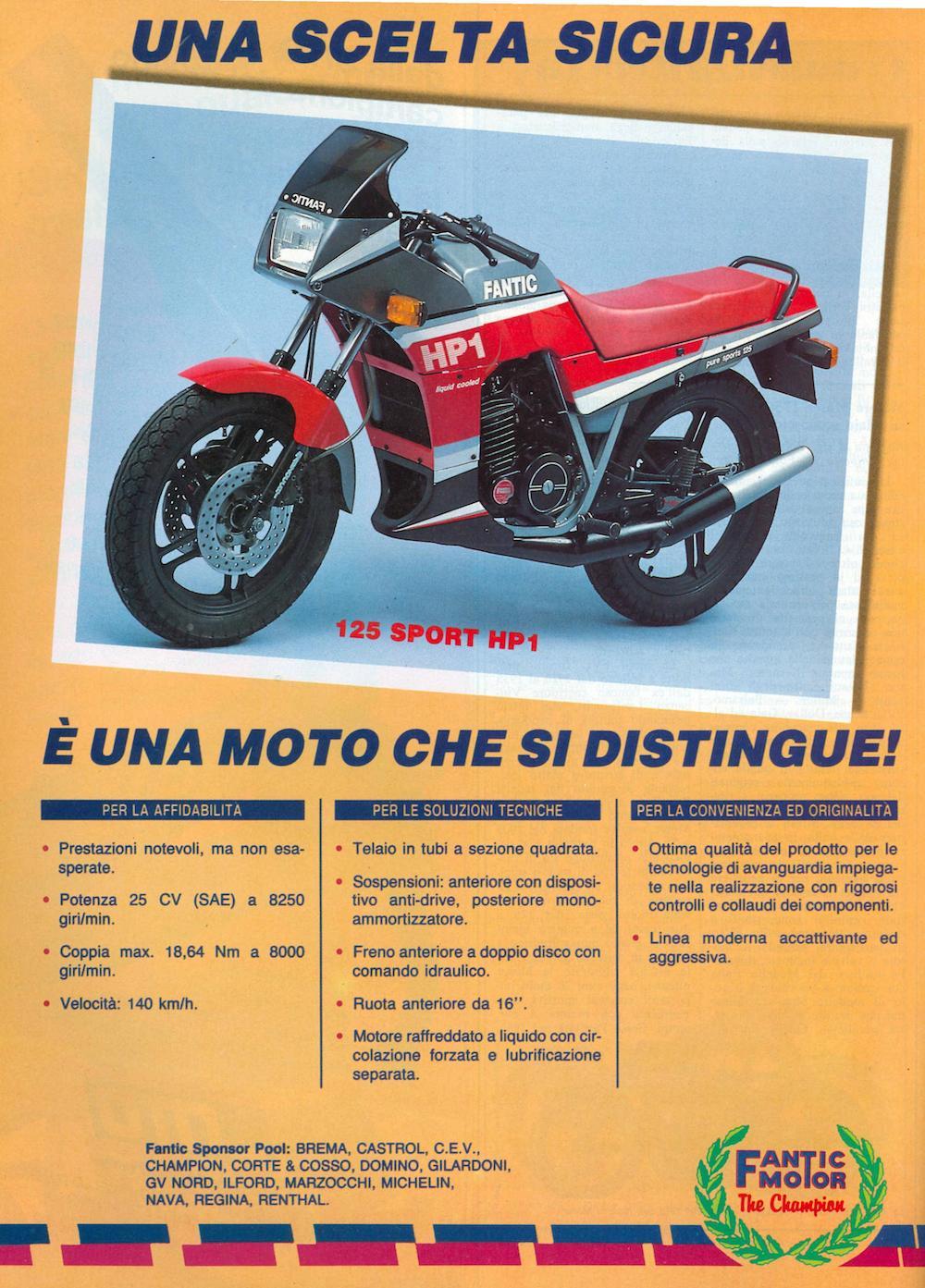 Fantic 125 HP1 86