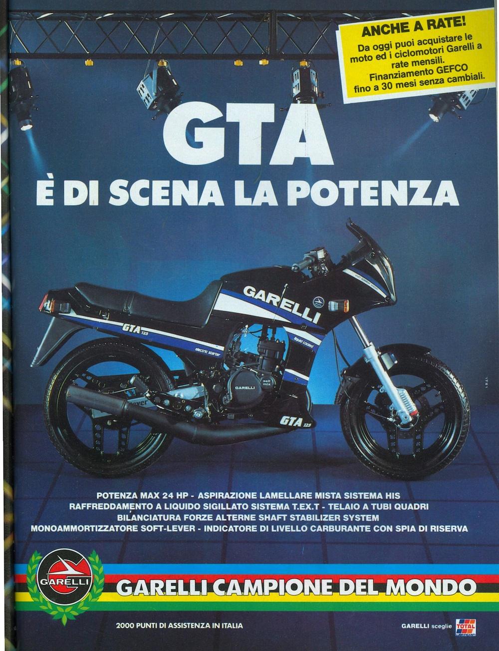 Garelli GTA 85
