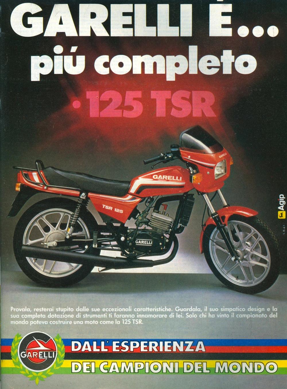 Garelli TSR 125 83