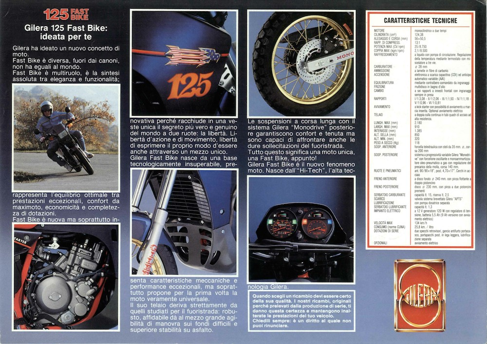 Gilera Fastbike 125 '87 (1)