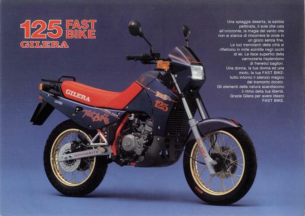 Gilera Fastbike 125 '87