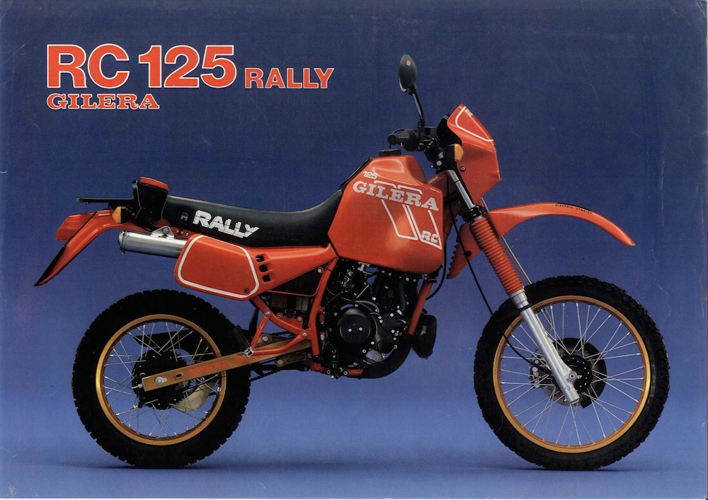 Gilera RC 125 Rally '87