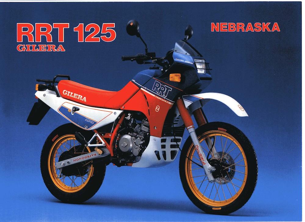 Gilera RRT 125 Nebraska 87