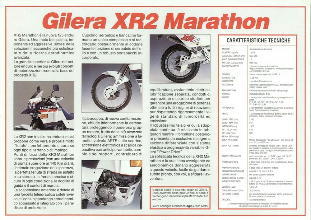 Gilera XR2 Marathon '89 (1)