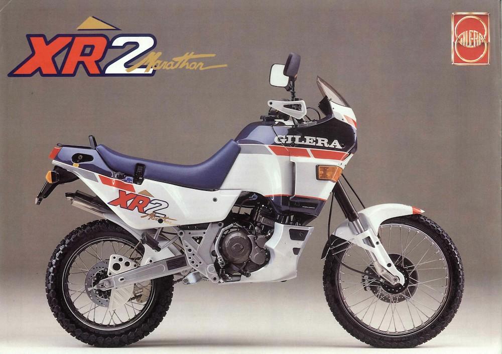Gilera XR2 Marathon '89
