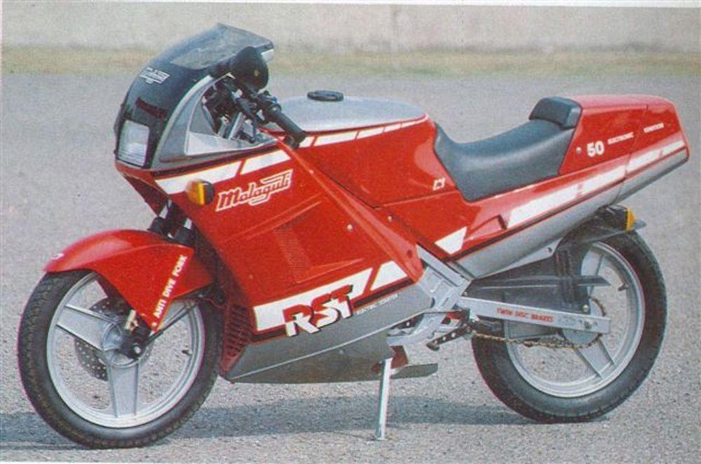 Malaguti RST 50 1987 rosso