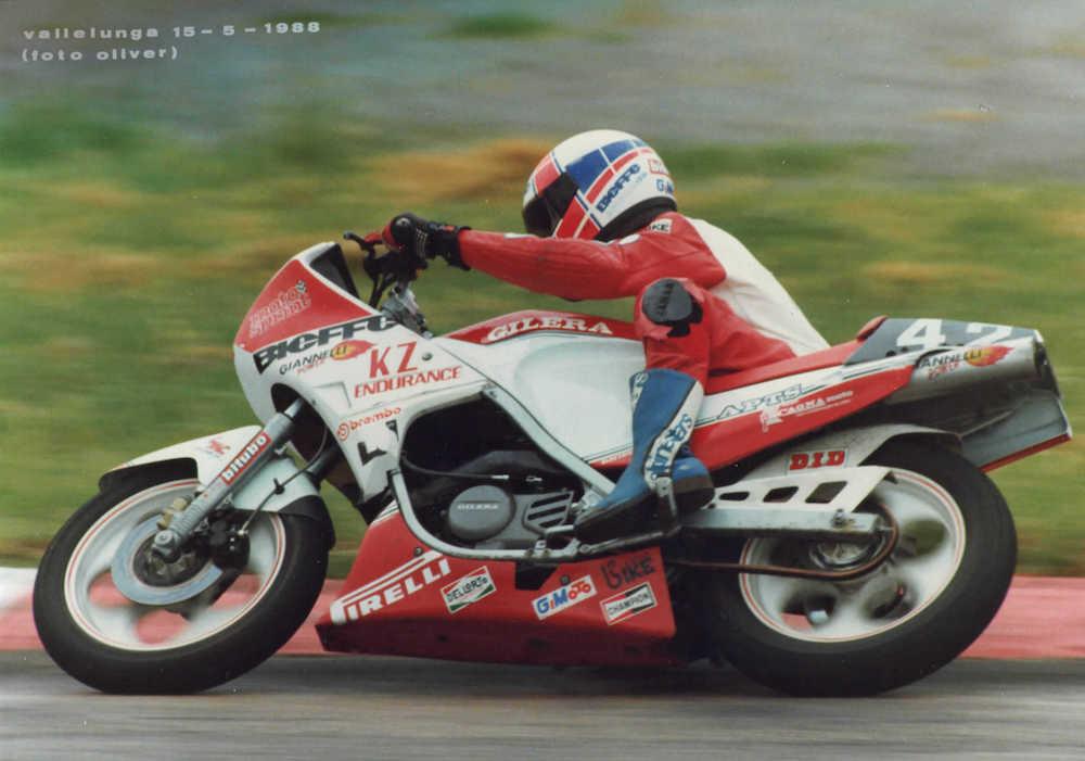 Trofeo Gilera KZ Endurance - 1988