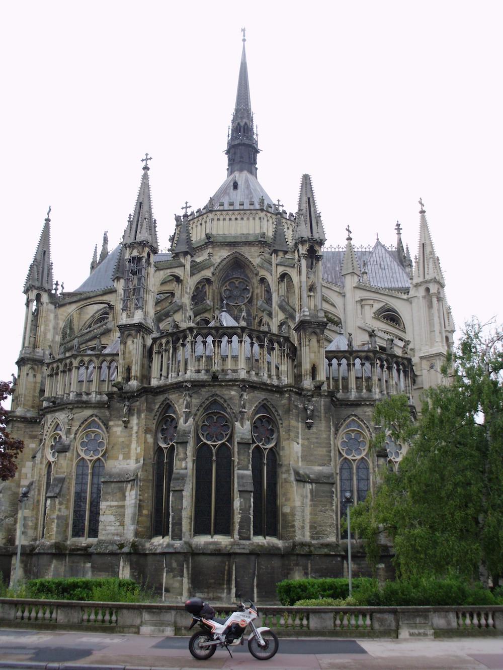 14 - La cattedrale di Reims