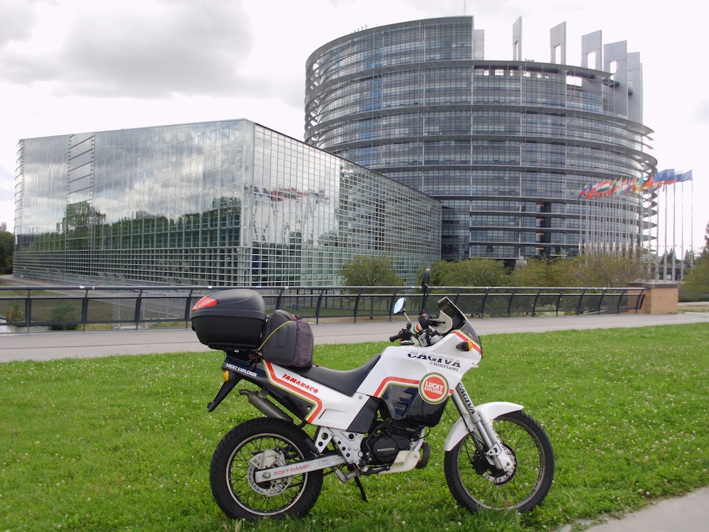 Il Parlamento Europeo (Strasburgo)