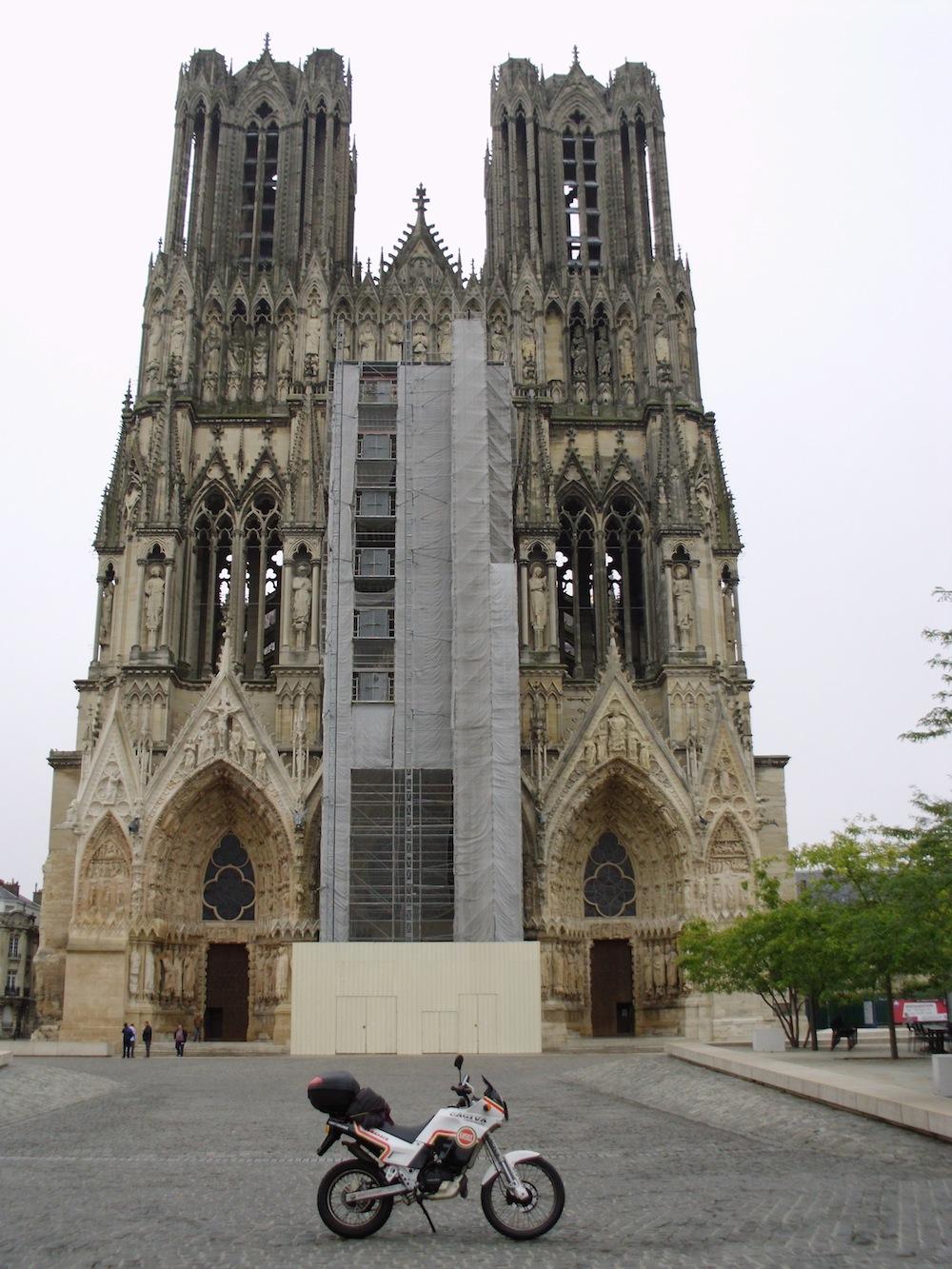 La Cattedrale di Reims (Francia)