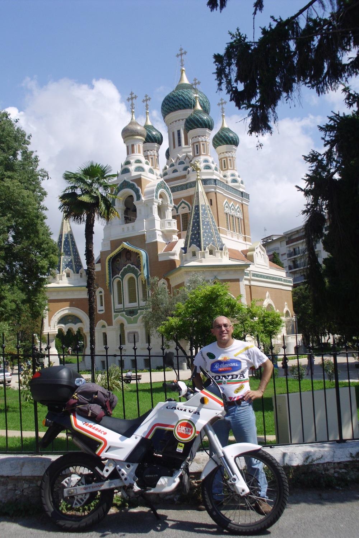 1- La chiesa russa ortodossa di San Nicola (Nizza)
