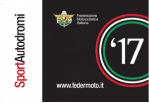Tessera Autodromi FMI 2017