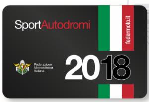 Tessera Autodromi FMI 2018